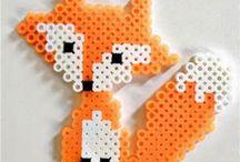 Hama Beads - Fox