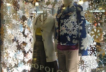Winter window displays