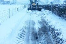 Snow Derbyshire Peak District Holiday Cottages