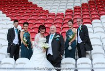 Langtree Park Stadium - Julie & Andy's Wedding - 26th March 2016 / The Wedding of Julie & Andy at Langtree Park Stadium, St Helens on the 26th March 2016 - Sam Rigby Photography (www.samrigbyphotography.co.uk) #langtreepark #stadium #sthelens #femaleweddingphotographer #northwestweddingphotographer #samrigbyphotography #bride #groom #wedding #sthelensrfc