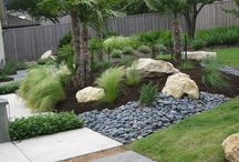 calm landscaping