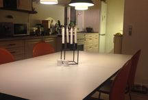 Huset / Kitchen/dining area