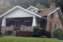 Coatesville Houses / The houses in Coatesville, PA. My neighborhood.