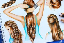 Art: Hair Drawing