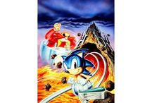 Sonic Spinball / Official artwork from Sonic Spinball including logos, concept art and icons.  More info on this game at http://sonicscene.net/sonic-spinball