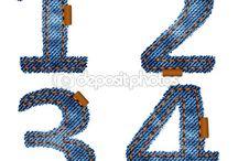 letras numeros