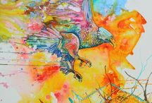 Jen Callahan Artwork & Coastal Colors BIRDS