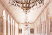 Chandeliers & Candles