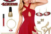 San Francisco 49ers Gear / San Francisco 49ers Gear, Merchandise, Clothes, Hats, Jackets, Jerseys