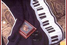 Piano blankets