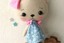 Mini Dolls / Fabric Dolls