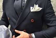 Men's Fashion - inspirations / Dandy, Formal, Smart casual style