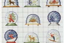 Punto Cruz Navidad - Christmas Cross Stitch