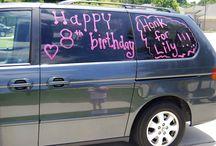 Kids' birthdays