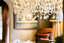 CHANDELIERS are my weakness