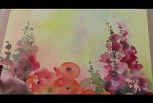 Watercolor videos / Watercolor