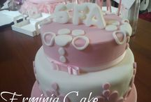 Pink Cake for Birthday
