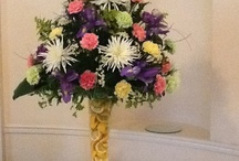 Events, Floral Designs For Special Celebrations / Flowers and decor for special celebrations.  Weddings, Galas, Parties, Birthday Celebrations and More