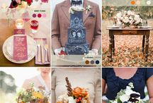 Autumn / Fall Wedding Inspiration / Inspiration, colors, décor and other ideas for a fantastic autumn/fall wedding.
