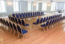 Presidential Suite / With dual aspect windows, its first floor positioning, and stripped wooden floor the Presidential Suite is a bright and attractive room.   With a clear open layout it is a wonderfully versatile space and can be used for an array of events such as conferences, meetings, gala dinners, lunches, exhibitions, cultural events, dances, fashion shows and weddings