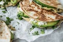 Tortillas mit Avocado