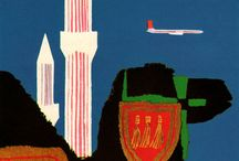 air-travel posters