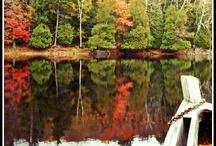 Art Inspiration: Forever Wild Adirondacks / The Adirondack Mountains of New York State