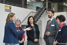 MEP's Visit to The Sharp Project - May 2014 / MEP's visited The Sharp Project and spoke to some of our apprentices.