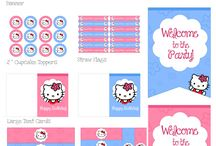 Hello kitty part ideas
