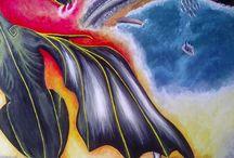 dragon mes créations