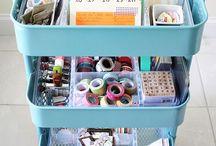 craft storage / ideas for storage
