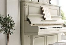 Piano Ideas  / by FunCycled Furniture - Sarah Trop