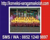 Konveksi Seragam Sekolah, Almamater, Seragam/Koas Olahraga, Seragam/Koas Pramuka, Seragam Kerja