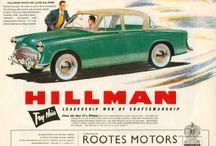 Classic car advertising
