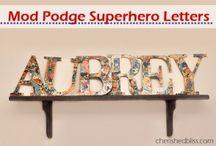 Boys Superhero Bedroom / by Shelley Akey