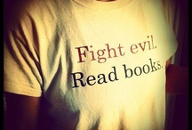 Read! / We love to read, anytime, anywhere.