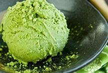 GREEN TEA ICE CREAM