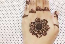 Mehndi / Henna, Mehendi, hand art, jewelry ,rings