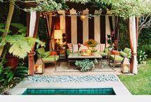 backyard ideas / by maria Gomez