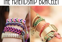 We are lusting over - Friendship Bracelets / DIY friendship bracelets, designer friendship bracelets, tonnes of pictures of stacked friendship bracelets. It's colourful friendship bracelets galore!