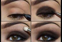 макияж пошагово глаза