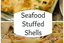 Stuffed shells past