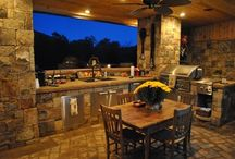 ~Outdoor Kitchens~ / by Dori White