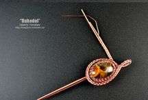 Wire wrapping pendant