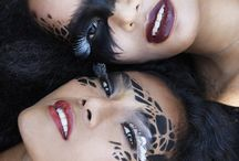 Animal print makeup
