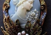 Brooches and Cameos