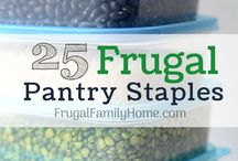 Pantry Staples-25 frugal staples