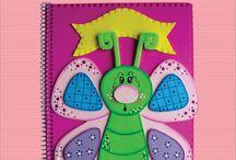 molde para cuaderno
