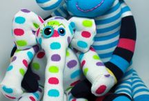 Sock Toys / by Diane Faulkner