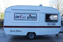 Vintage Caravans / Turn something old into something new by turning a Vintage Caravan into a mobile catering unit.
